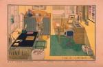 「光と静寂とに恵まれた美術謄写印刷研究家の工房」(昭和8年)